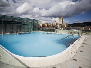 Roof Top Pool in New Royal Bath, Thermae Bath Spa, Bath, Avon, England, United Kingdom by Matthew Davison
