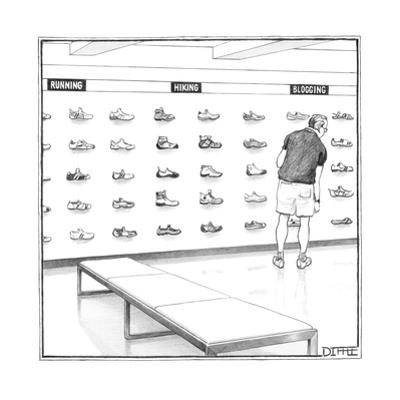 New Yorker Cartoon by Matthew Diffee