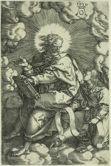 Matthew, from the Four Evangelists, 1539-Heinrich Aldegrever-Giclee Print