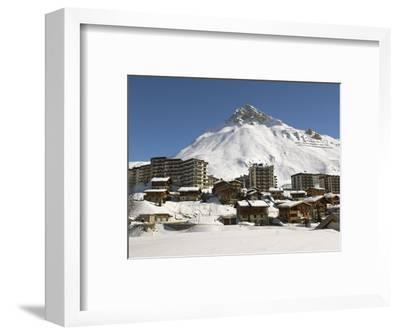 Alpine Ski Resort, Tignes-Le-Lac, Tignes, Savoie, Rhone-Alpes, French Alps, France, Europe