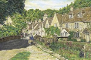 Castle Combe Village, 2001 by Matthew Grayson