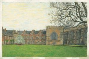 The Bishop's Palace, Wells, 2010 by Matthew Grayson