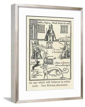 Matthew Hopkins, English Witch Hunter-Science, Industry and Business Library-Framed Giclee Print