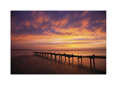 Old Dock Sunset
