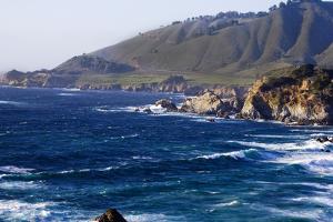 The Coastline in Big Sur California by Matthew O'Shea