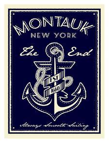 Montauk Anchor by Matthew Schnepf