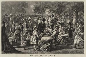 May Fair, a Sketch in Hyde Park by Matthew White Ridley