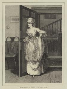 Private Theatricals, Miss Hardcastle in She Stoops to Conquer by Matthew White Ridley