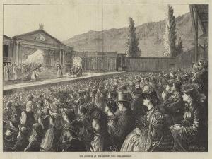 The Audience at the Passion Play, Ober-Ammergau by Matthew White Ridley