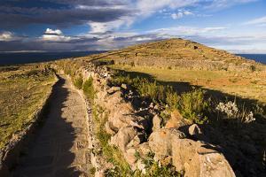 Amantani Islands (Isla Amantani) Seen from Pachamama (Mother Earth) Summit, Lake Titicaca, Peru by Matthew Williams-Ellis
