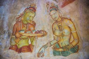 Apsara Frescoes by Matthew Williams-Ellis