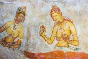 Apsara Frescoes by Matthew Williams-Ellis