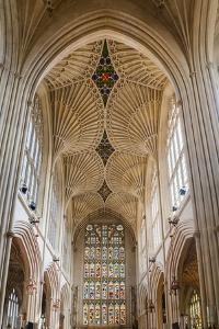 Bath Abbey Interior, Bath, Avon and Somerset, England, United Kingdom, Europe by Matthew Williams-Ellis