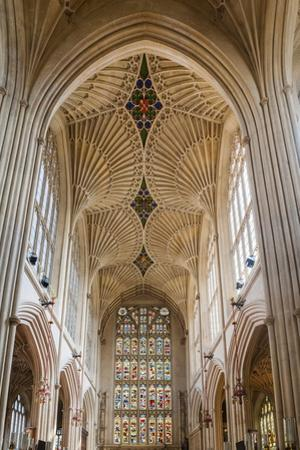 Bath Abbey Interior, Bath, Avon and Somerset, England, United Kingdom, Europe by Matthew Williams-Ellis
