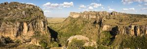 Canyon in Isalo National Park at Sunset, Ihorombe Region, Southwest Madagascar, Africa by Matthew Williams-Ellis