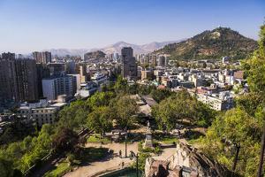 Cerro Santa Lucia (Santa Lucia Park Hill), Santiago, Santiago Province, Chile, South America by Matthew Williams-Ellis