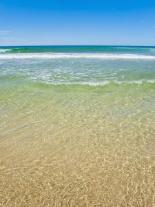 Crystal Clear Blue Sea at Surfers Paradise, Gold Coast, Queensland, Australia, Pacific by Matthew Williams-Ellis