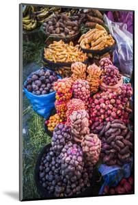 Different Potatoes for Sale at a Food Market in La Paz, La Paz Department, Bolivia, South America by Matthew Williams-Ellis