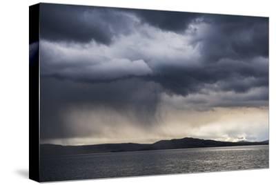 Dramatic Storm Clouds over Lake Titicaca, Peru, South America