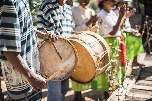 Drums and Traditional Music at Ambohimahasoa, Haute Matsiatra Region, Madagascar Central Highlands by Matthew Williams-Ellis