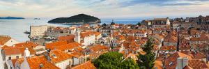 Dubrovnik Old Town and Lokrum Island from Dubrovnik City Walls by Matthew Williams-Ellis