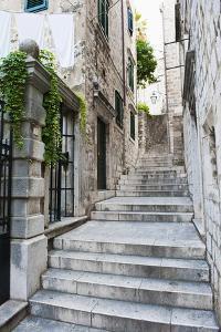 Dubrovnik Old Town, One of the Narrow Side Streets, Dubrovnik, Croatia, Europe by Matthew Williams-Ellis
