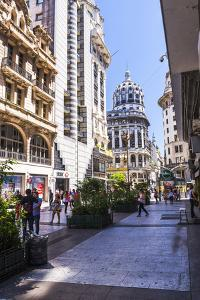 Floride Street, Downtown Buenos Aires, Argentina, South America by Matthew Williams-Ellis