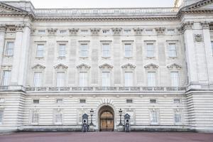 Grenadier Guards at Buckingham Palace, London, England, United Kingdom, Europe by Matthew Williams-Ellis