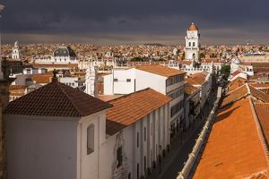 Historic City of Sucre Seen from Iglesia Nuestra Senora De La Merced, Bolivia by Matthew Williams-Ellis