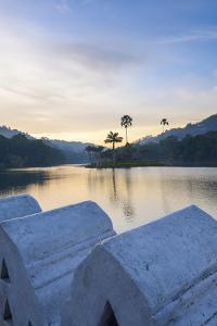 Kandy Lake at Sunrise by Matthew Williams-Ellis