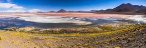 Laguna Colorada (Red Lagoon), Bolivia by Matthew Williams-Ellis