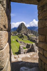 Machu Picchu Inca Ruins and Huayna Picchu (Wayna Picchu), Cusco Region, Peru, South America by Matthew Williams-Ellis