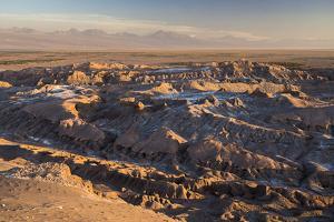 Moon Valley Sunset (Valle De La Luna), Atacama Desert, North Chile, Chile, South America by Matthew Williams-Ellis