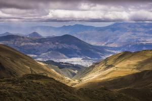 Most Northern Point in Quito Seen from Pichincha Volcano, Ecuador, South America by Matthew Williams-Ellis