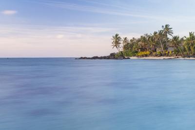 Muri Lagoon Sunrise, Rarotonga, Cook Islands, South Pacific, Pacific by Matthew Williams-Ellis