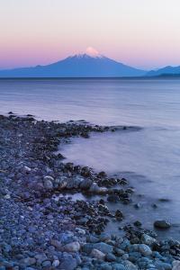 Osorno Volcano (Volcan Osorno) and Llanquihue Lake, Puerto Varas, Chile Lake District, Chile by Matthew Williams-Ellis