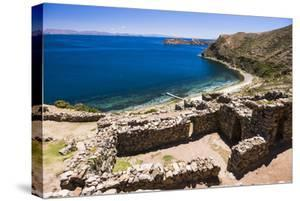 Palacio Del Inca at Chincana Ruins, Lake Titicaca, Bolivia by Matthew Williams-Ellis