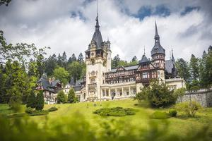 Peles Castle, a Palace Near Sinaia, Transylvania, Romania, Europe by Matthew Williams-Ellis