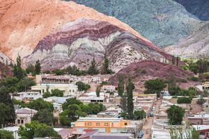Purmamarca and the Hill of Seven Colours (Cerro De Los Siete Colores), Jujuy Province, Argentina by Matthew Williams-Ellis