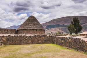 Raqchi Inca Ruins, an Archaeological Site in the Cusco Region, Peru, South America by Matthew Williams-Ellis