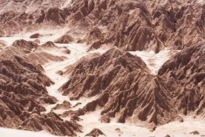 Rock Formations in Death Valley (Valle De La Muerte), Atacama Desert, North Chile by Matthew Williams-Ellis