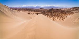 Sand Dunes at Death Valley (Valle De La Muerte), Atacama Desert, Chile by Matthew Williams-Ellis