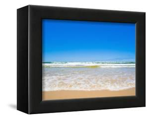Sand Sea and Sky of Seventy Five Mile Beach, Fraser Island, UNESCO World Heritage Site, Australia by Matthew Williams-Ellis