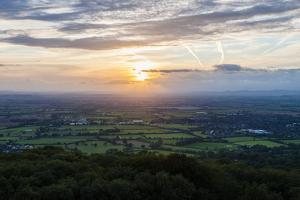 Severn Vale and Cleve Hill, Part of the Cotswold Hill, Cheltenham by Matthew Williams-Ellis