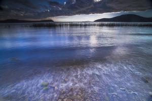 Stormy Lake Titicaca, Challapampa Village, Isla Del Sol (Island of the Sun), Bolivia, South America by Matthew Williams-Ellis