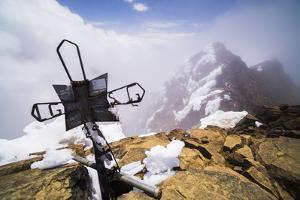 The 5126M Summit of Illiniza Norte Volcano, Pichincha Province, Ecuador, South America by Matthew Williams-Ellis