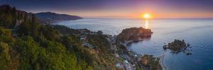 The Sicilian Coast at Sunrise by Matthew Williams-Ellis