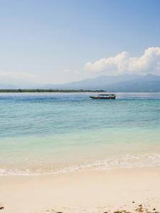 Traditional Indonesian Boat, Gili Meno, Gili Islands, Indonesia, Southeast Asia, Asia by Matthew Williams-Ellis