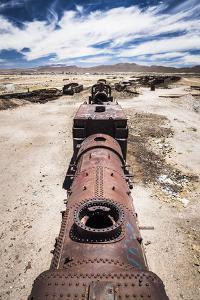 Train Cemetery (Train Graveyard), Uyuni, Bolivia, South America by Matthew Williams-Ellis