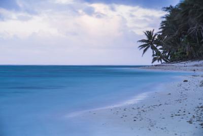 Tropical Beach, Rarotonga, Cook Islands, South Pacific, Pacific by Matthew Williams-Ellis